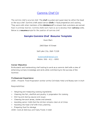 Culinary Cover Letter Resume Templates Personal Chef Cover Letter Example Fascinating