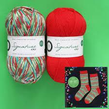 Fairy Lights Sock Kit Inspiration Wool And Company Fine Yarn