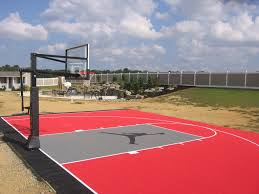 Products Gym Floors  Basketball Court Flooring  Backyard Backyard Tennis Court Cost
