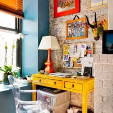 apartment home office. Study Room - Eclectic Freestanding Desk Medium Tone Wood Floor Study  Idea In New York Apartment Home Office