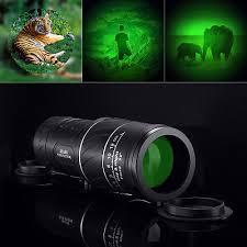 Wide View <b>40X60</b> HD Optical <b>Monocular</b> Hunting <b>Camping BAK-4</b> ...