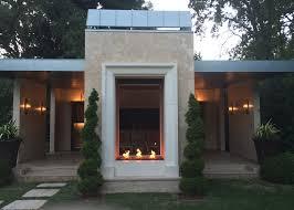 acucraft custom gas indoor outdoor fireplace