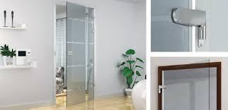 stainless steel glass door hinges