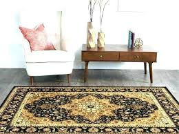 indian area rugs handmade circular fl rug in brown with rust accents native american