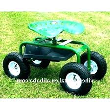 garden rolling work seat garden work seat rolling cart tractor on wheels for best choice garden rolling work seat