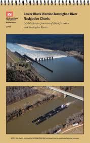 Black Warrior Tombigbee River Lower Navigational Chart Book