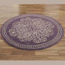 mauve area rug vintage lace round rugs purple oval orange accent green lilac big living