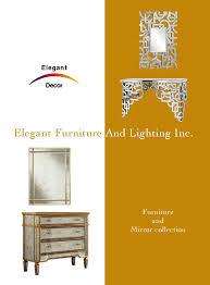 Elegant Lighting Mirrored Furniture Elegant Decor January 2014 By Elegant Lighting Issuu