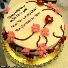 Mother Birthday Cake Name Pictures Latestwishesin