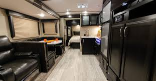 Travel trailers interior Flagstaff Homecrux Top Travel Trailers And Fifth Wheels For 2019
