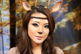 deer makeup for deer makeup tutorial 2016 from head to toe