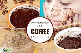 apart from drinking coffee you can use coffee grounds or extracts to make highly effective face masks and scrubs to enjoy healthy and glowing skin