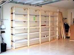 diy storage shed shelving step build garage storage shelves plans build garage storage shelving