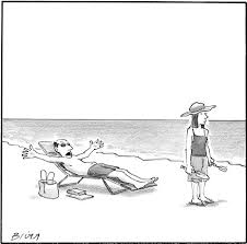 """me myself and i the new yorker """"it s a beach roslyn there s nothing to garden """""""