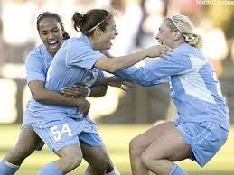 still blue unc wins th women s soccer crown pretty tough  unc wins women s college cup 2008