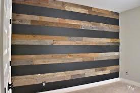 barn wood accent wall