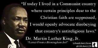 Martin Luther King Christian Quotes Best of Dr King On Religious Freedom Life Liberty '24