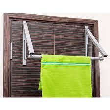 tatkraft bridge over the door closet rod extendable rack for hanging clothes 18 1 x 12 6 x 11 on on