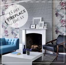 Small Picture 15 Beautiful DIY Ideas for Your Fireplace DesignSponge
