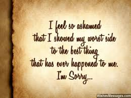 Sorry Quotes Classy I Am Sorry Messages For Husband Apology Quotes For Him I Am Sorry