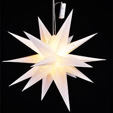 Led Weihnachtsstern Weiß ø 58cm Mojawode Livestyle Und Wohndekoration