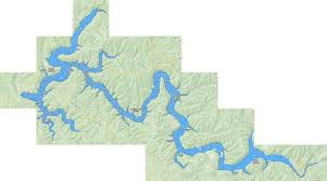 Taylorsville Lake Fishing Map Us_ky_02571204 Nautical