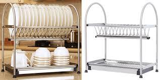 2 tier dish drying rack 30
