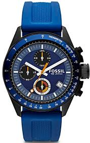 17 best ideas about fossil watches mens fossil fossil men s chronograph decker blue silicone strap watch watches jewelry watches macy s