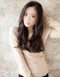 前髪長めiラインロングta55 ヘアカタログ髪型ヘアスタイル