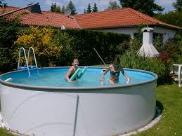 Pool Zum Aufstellen Ps28 Hitoiro Pool Im Garten Aufstellen