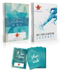 Fitness And Nutrition Journal Fitness Journals And Motivational Card Decks Vervante Blog