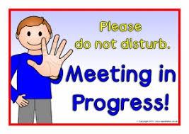 Quiet Please Meeting In Progress Sign Office Door Signs Meeting In Progress Rome Fontanacountryinn Com
