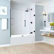 pivot hinged bathtub doors bathtubs the home depot bathtub glass door bathtub glass door cost tub doors