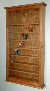 id fwd tall shot glass display case