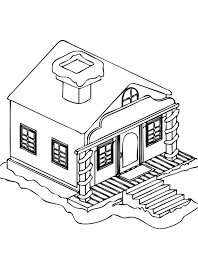 Small Picture Winter House Coloring Pages Winter Coloring Pages House In The