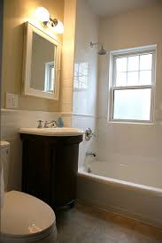 dayton bathroom remodeling. Modren Bathroom Small Bath Remodeling Picture With Curved Cabinet Throughout Dayton Bathroom Remodeling T