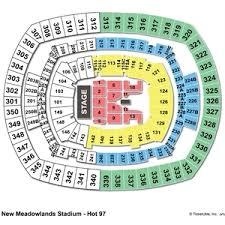 Metlife Stadium Seating Chart One Direction