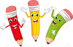Image result for happy pencil
