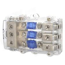 fuse holder distribution block for car audio system silver fuse holder distribution block for car audio system silver