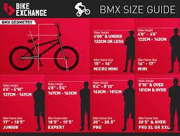 42 Exact Bmx Racing Bike Size Chart