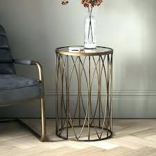 round gold side table small gold side table coffee table small oval coffee table gold geometric