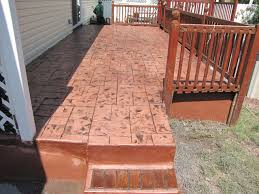 Recent Stamped Concrete Deck Projects