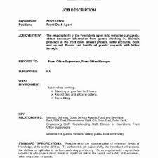 Sample Resume Hotel Guest Service Representative Best Resume For