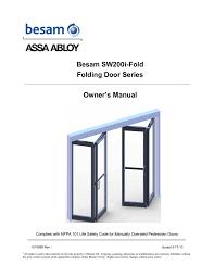 besam rd4 100 manual revolving door array besam sw200i fold folding door series rh manualzz
