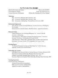 Cv Short Michigan State University Economist