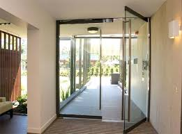 frameless glass entry doors residential pivoting glass doors make for an easy entrance home entry door