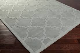 awhp4017 grey moroccan pattern hand loomed rug awhp4017 69 corner jpg