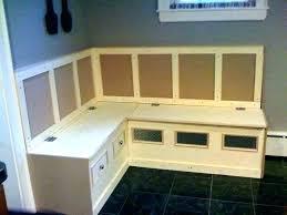 kitchen nook furniture. Kitchen Nook With Storage Bench New Breakfast Cushioned Counter Height Furniture