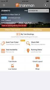 Live Train Chart Top 10 Apps Like Indian Railway Train Enquiry In 2019 For