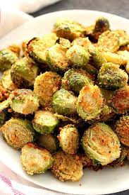 roasted brussels sprouts crunchy